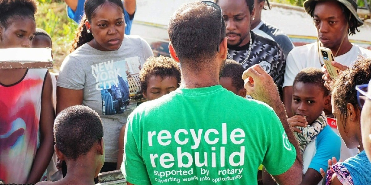 Dominica- Community-powered recycling