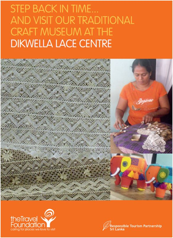 Dikwella lace centre in Sri Lanka